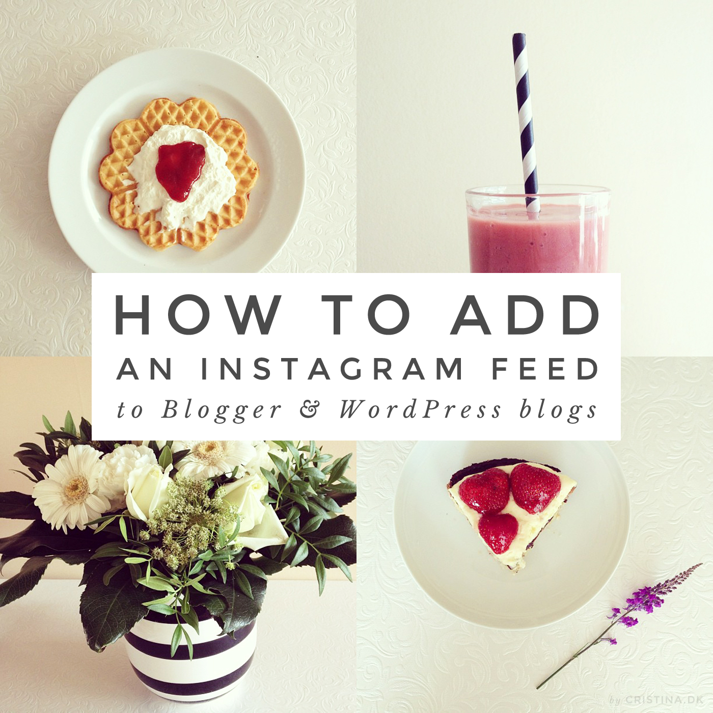 How to add Instagram to your blog